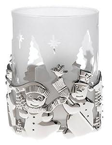 Gorham Silverplated Snowman Votive