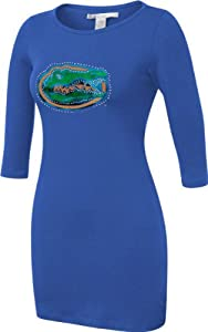Florida Gators Chicka-d-Ladies Blue Fitted Dress by Chicka-D