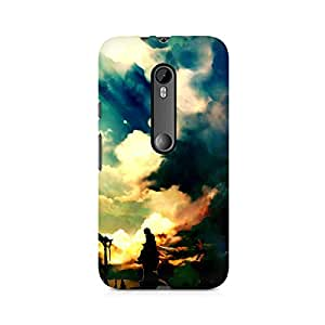 MOBICTURE Nature Abstract Premium Designer Mobile Back Case Cover For Moto X Play