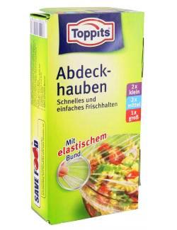 Toppits ® abdeckhauben/feuilles avec élastique (2 x s/m/2 x 1 l haute qualité