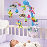 Dynamic Tiny Love Classic Mobile and Night Light - Cleva Edition ChildSAFE Door Stopz Bundle