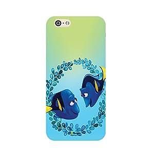 Hamee Disney Pixar Finding Dory Official Licensed Designer Cover Hard Back Case for iPhone 6 / 6s (Charlie Jenny / Dory's Parents)