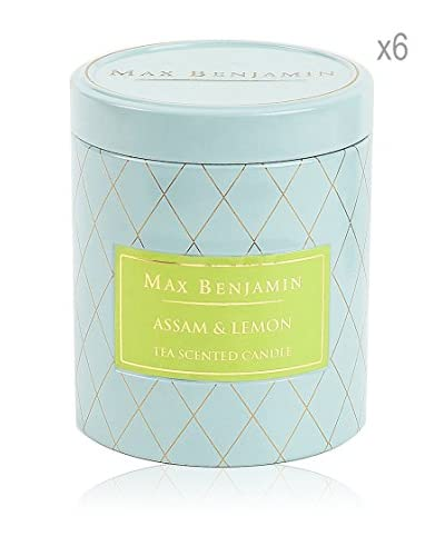 Max Benjamin Set x 6 Velas Assam & Lemon Tea
