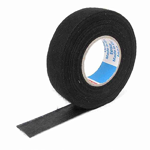 Move&Moving(TM) Home Auto Car 18mm Width Non-woven Adhesive Tape Black