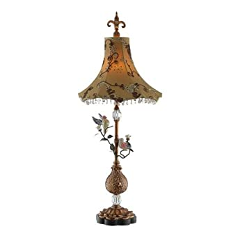 Birds on Branches 1 Light Table Lamp