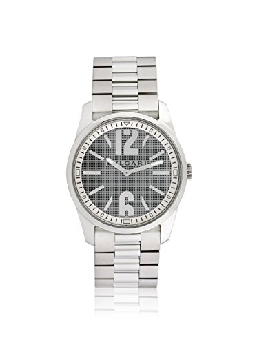 Bulgari Men's Pre-Owned Solotempo Large Grey/Stainless Steel Watch