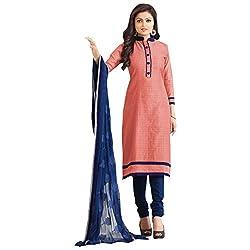 radhika chanderi Embroidered Dress Material