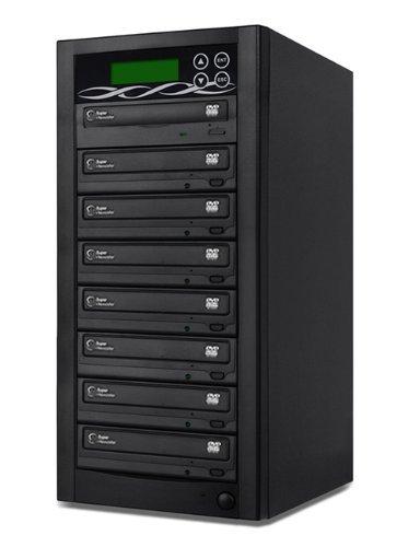 Bestduplicator BD-SMG-7T 7 Target 24x SATA DVD Duplicator with Built-In Samsung Burner (1 to 7)
