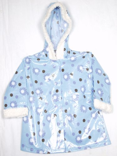 Sweet Potatoes Kid's Blue Bird Raincoat (6T)