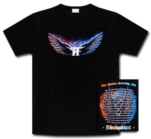 Hammerfall * Euro Festival Tour 2010 * Shirt * L * Maglietta Originale * LIQUIDAZIONE * ARTICOLO UNICO *