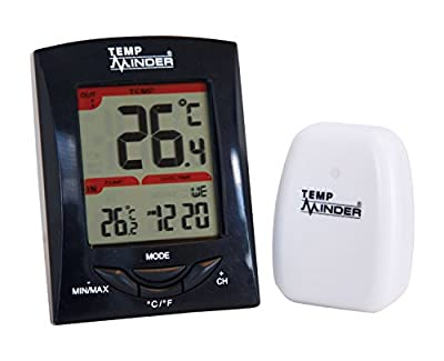 Temp Minder MRI-200HI Wireless Thermometer & Clock