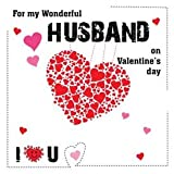 Valentine'S Day - Husband Greetings Card By Design Hog