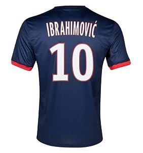 Buy #10 IBRAHIMOVIC PSG Home 2013-14 Kid Soccer Jersey & Matching Short Set by World Soccer Maniac