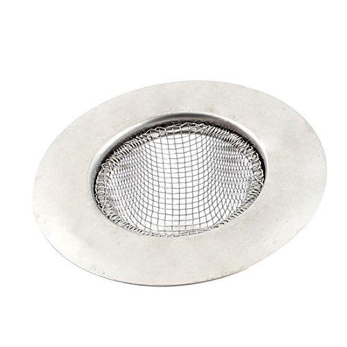 Sourcingmap Cuisine eau évier Passoire à bonde de lavabo Filtre 7cm Dia ton argent