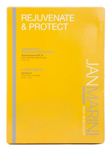 Jan Marini Rejuvenate & Protect Daily Face Protectant Spf 33 + C-Esta Serum
