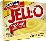 #1: Jell-O Vanilla Pudding and Pie Filling 96g