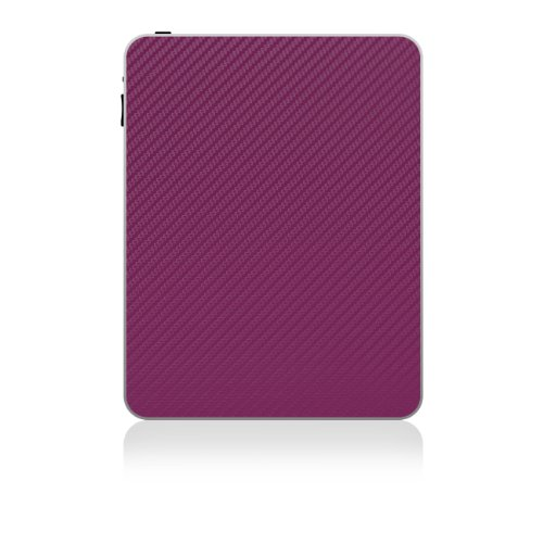 iCarbons Purple Carbon Fiber Vinyl Skin for iPad 1 Original Back Only deep purple deep purple stormbringer 35th anniversary edition cd dvd