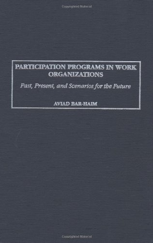 Participation Programs in Work Organizations: Past, Present, and Scenarios for the Future