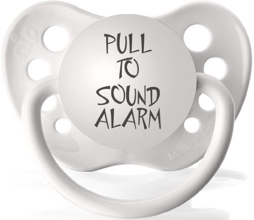 Pull To Sound Alarm- Expression Pacifier - 1