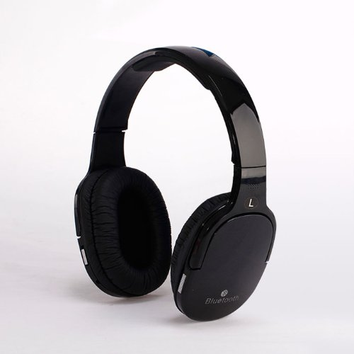 Best The Black 3.5Mm Audio Wireless Bluetooth Microphone Headset Headphone For Pc Phone