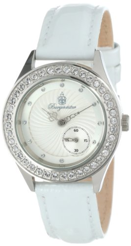 Burgmeister Veere BM509-186 Ladies Automatic Analogue Watch with White Dial