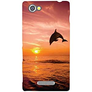 Sony Xperia M Back Cover - Fly Away Designer Cases