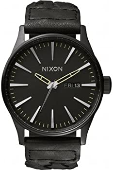 Nixon Sentry Black Dial Mens Watch