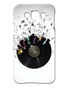 Pickpattern Back Cover for Samsung E7 (White)