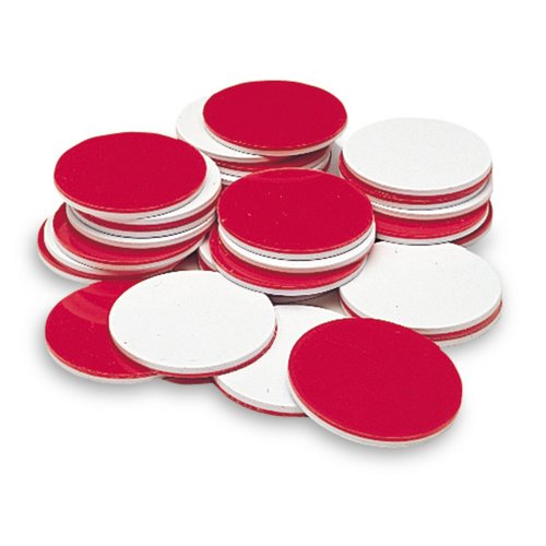 Learning Resources Two-Color Counters - Red/ White - 1