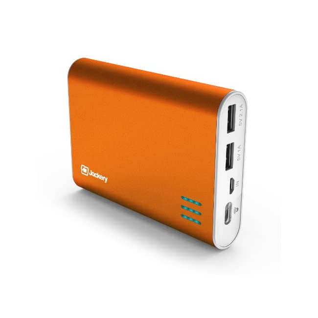 Jackery Giant+ Premium Portable Charger 12000mAh Power Pack and External Battery with Dual USB Port for iPhone 6 Plus, 6, 5S, 5C, iPad Air, Mini, Samsung Galaxy S5, S4, Note, HTC. Portable Battery Charger, iPad Charger, Travel Charger, USB Battery Pack, Power Bank, Portable Battery