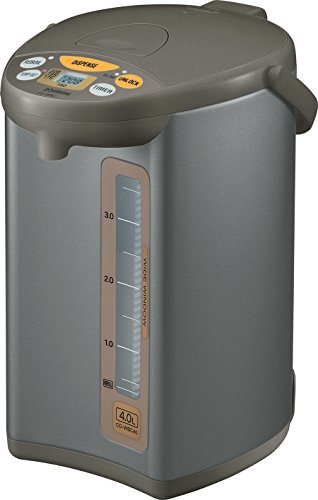 Learn More About Zojirushi CD-WBC40-TS Micom 4-Liter Water Boiler and Warmer, Silver Brown