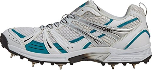 gunn-moore-sei-6-scarpa-da-cricket-junior-o-senior-multi-funzione-spikes-trainer-multi-coloured-seni