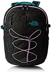 Women's The North Face Borealis Backpack Kokomo Green/African Violet Size One Size