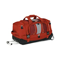 High Sierra Evolution 28-Inch Drop Bottom Wheeled Duffel by High Sierra