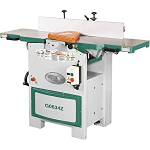 Grizzly G0634Z Planer/Jointer with Spiral Cutter Head, 12-Inch