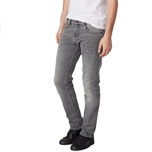 Kaporal Uomo Jeans Taglio Straight Taglia 31 Grigio
