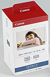 Canon KP-108IN Color Ink Paper Set 3115B006 AA