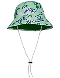 Tuga Boys Bucket Hat (UPF 50+), Verdero, Small
