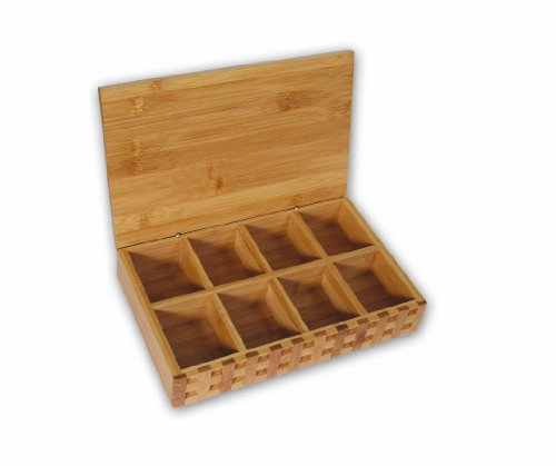 Island Bamboo 11-Inch Tea Box
