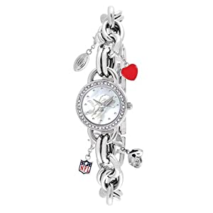 Ladies NFL Detroit Lions Charm Watch by Jewelry Adviser Nfl Watches