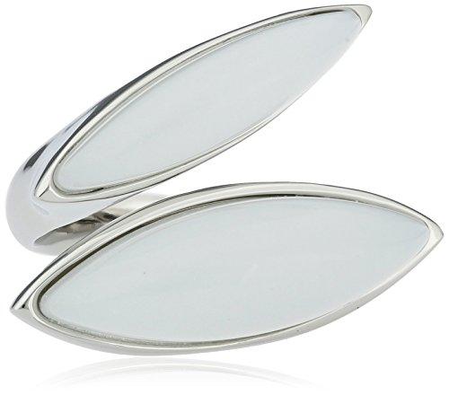 Skagen Designs UK - Bague - Acier inoxydable - Verre - T56 - SKJ0395040-8