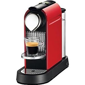 Nespresso C110-US-RE-NE CitiZ Automatic Single-Serve Espresso Maker,Fire-Engine Red