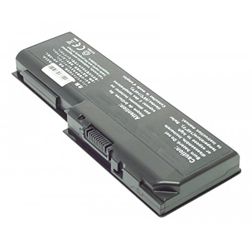 Batterie, Li-Ion, 10.8V, 6600mAh, noir pour Toshiba Satellite L350D-11A