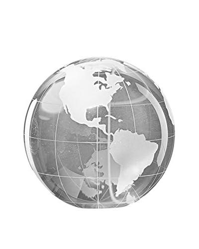 Badash Crystal Glass Globe Paperweight