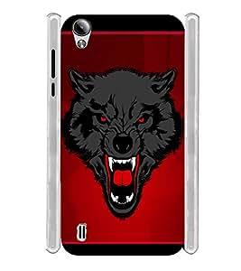 Horror Fox Soft Silicon Rubberized Back Case Cover for Vivo Y51