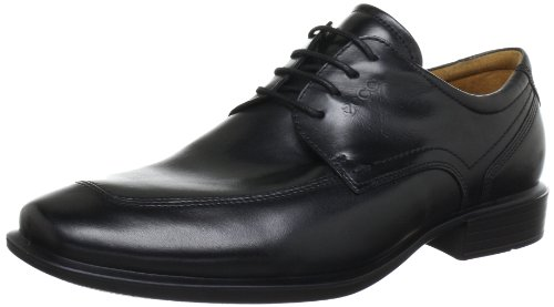 Ecco Cairo Black Oxford Lace-Ups Mens Black Schwarz (BLACK) Size: 13 (47 EU)