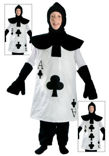 Big Boys' Ace of Clubs Costume