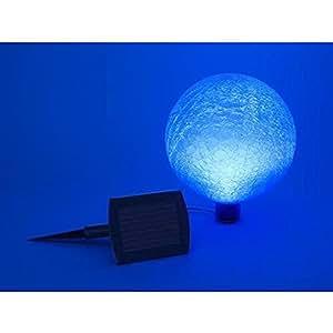 Amazon Com Solar 10 Inch Gazing Globe Blue Lapis