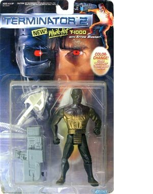 White-hot T-1000 with Arrow Blaster! Terminator 2: Judgment Day Action Figure - 1