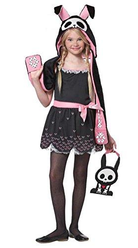 POPLife Jack The Rabbit Bunny Skelanimals Child Costume (Girls Magic Hat Bunny Costume)